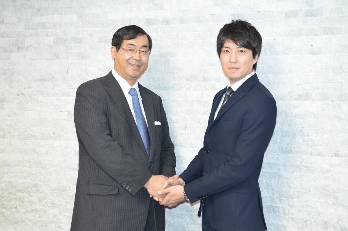 ジュピタープロジェクトリーダー 松田 学氏、ミクウガジャパン株式会社代表取締役 沼倉 裕